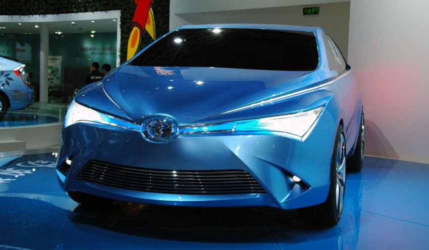 Toyota Yundong Shuangqing Hybrid and Dear Qin sedan and hatch concepts make their mark in Beijing Image #103049