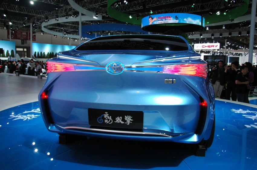 Toyota Yundong Shuangqing Hybrid and Dear Qin sedan and hatch concepts make their mark in Beijing Image #103047