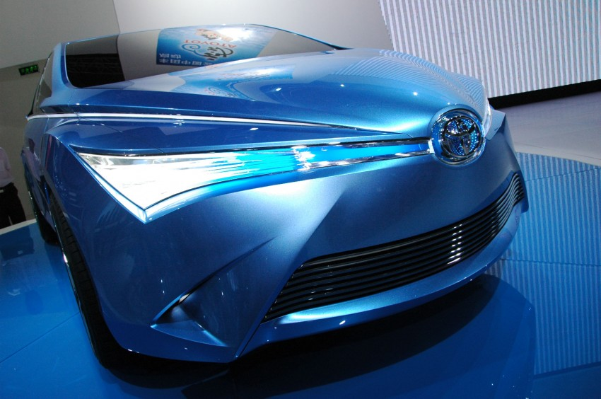Toyota Yundong Shuangqing Hybrid and Dear Qin sedan and hatch concepts make their mark in Beijing Image #103045