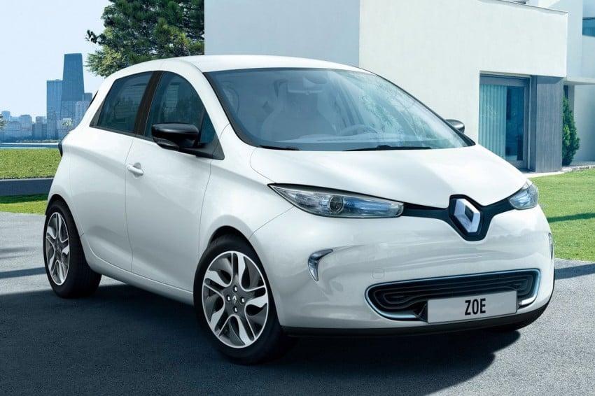 Renault ZOE electric car launched – 210 km NEDC range Image #91642