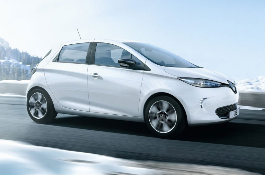 Renault ZOE electric car launched – 210 km NEDC range Image #91643
