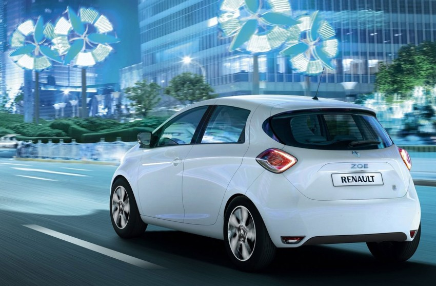 Renault ZOE electric car launched – 210 km NEDC range Image #91644
