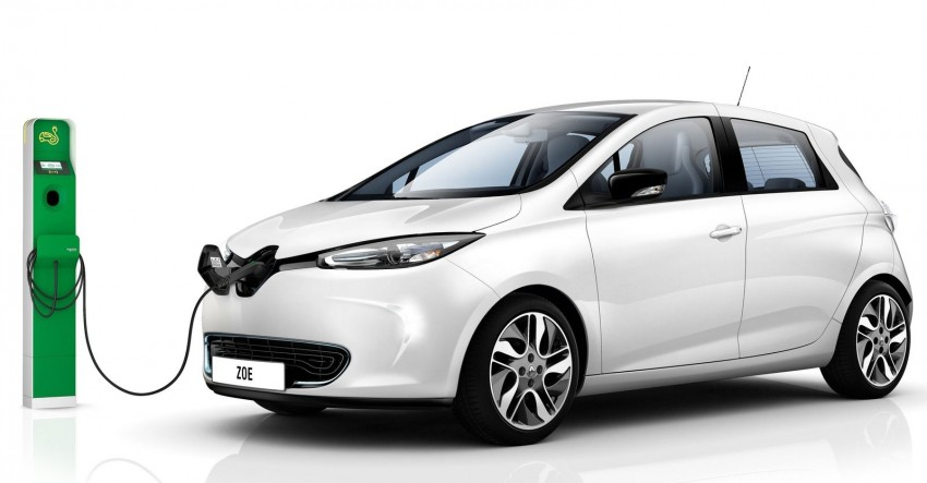 Renault ZOE electric car launched – 210 km NEDC range Image #91645