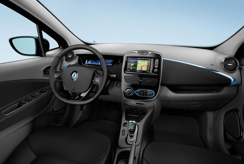 Renault ZOE electric car launched – 210 km NEDC range Image #91646