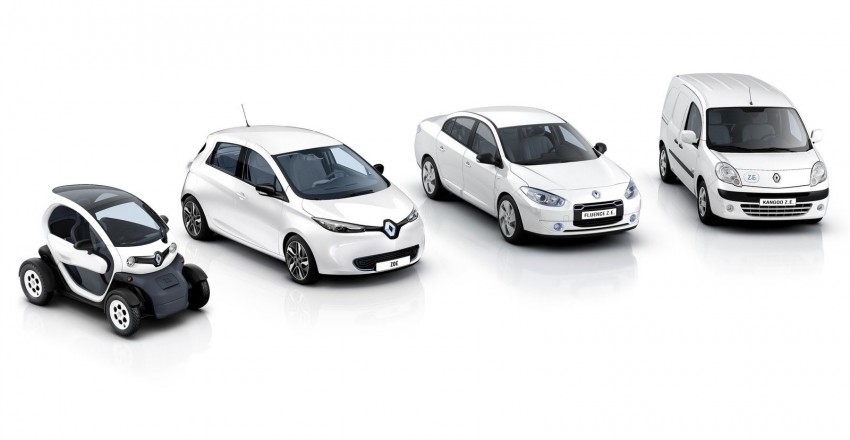 Renault ZOE electric car launched – 210 km NEDC range Image #91647