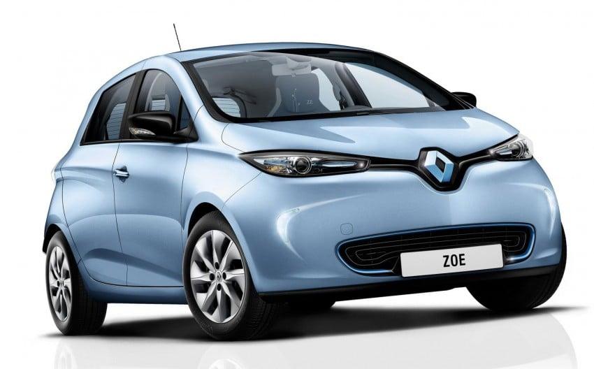 Renault ZOE electric car launched – 210 km NEDC range Image #91648