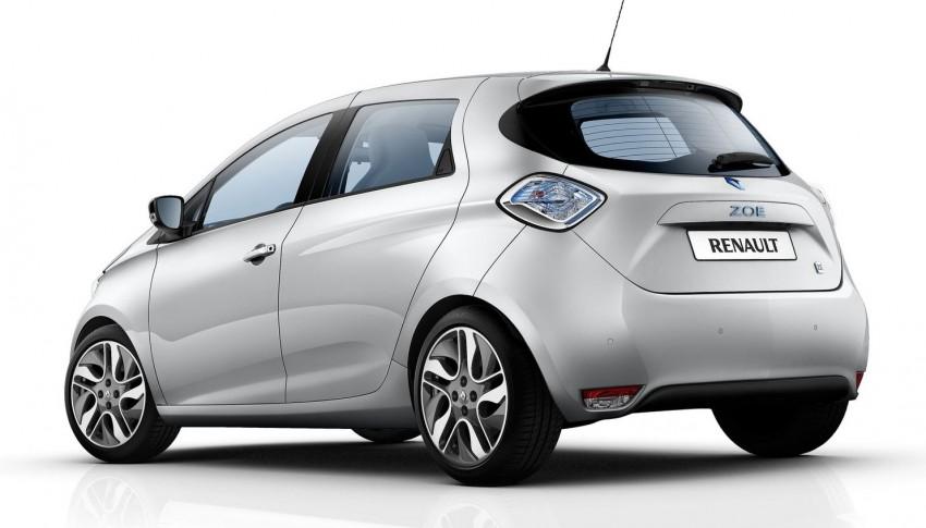 Renault ZOE electric car launched – 210 km NEDC range Image #91649