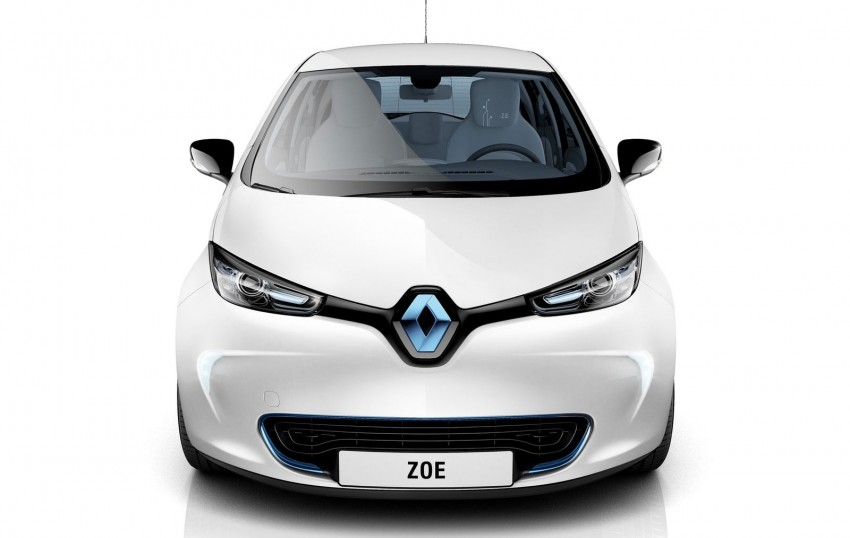 Renault ZOE electric car launched – 210 km NEDC range Image #91650