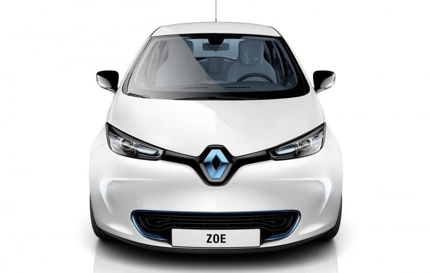 Renault ZOE electric car launched – 210 km NEDC range Image #91650