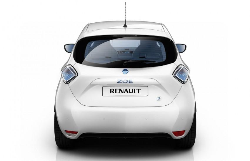 Renault ZOE electric car launched – 210 km NEDC range Image #91651