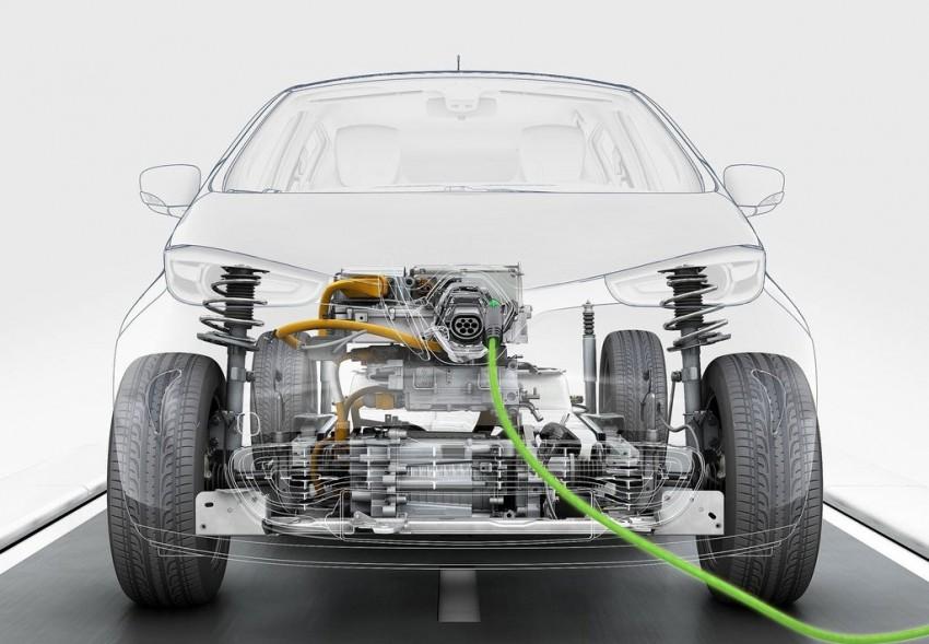 Renault ZOE electric car launched – 210 km NEDC range Image #91653