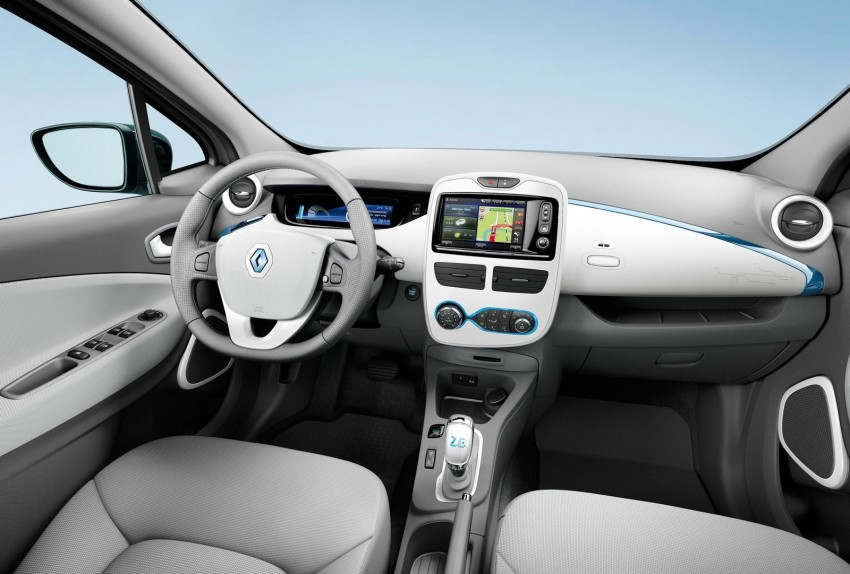 Renault ZOE electric car launched – 210 km NEDC range Image #91655