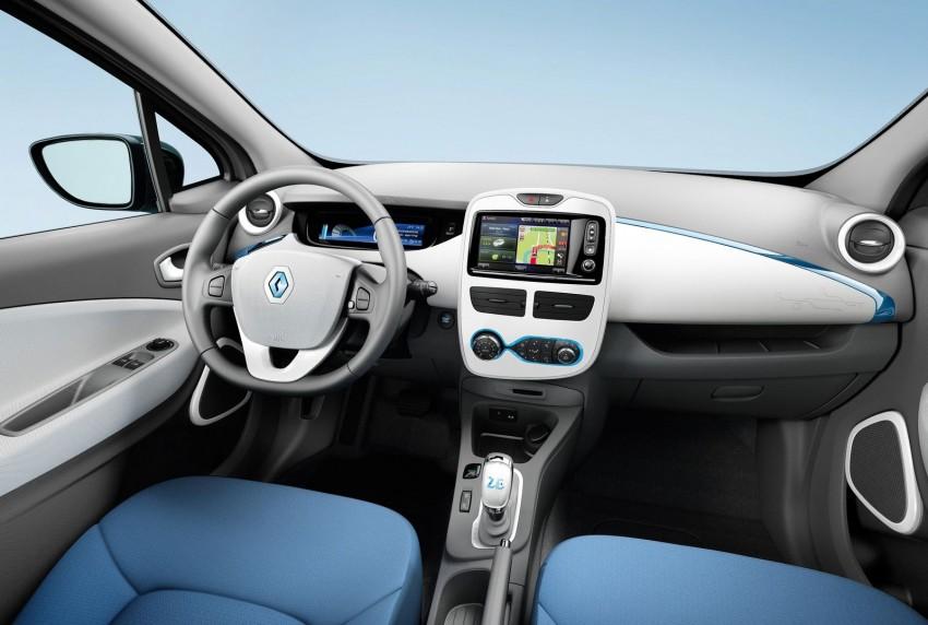 Renault ZOE electric car launched – 210 km NEDC range Image #91656