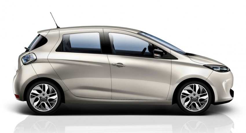 Renault ZOE electric car launched – 210 km NEDC range Image #91661