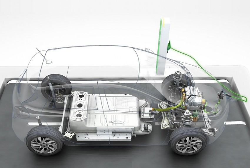 Renault ZOE electric car launched – 210 km NEDC range Image #91657