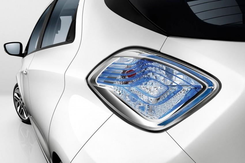 Renault ZOE electric car launched – 210 km NEDC range Image #91658