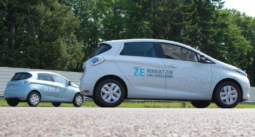 Renault ZOE sets new EV record: 1,618 km in 24 hours Image #112766