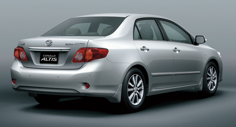 2008 toyota corolla altis launched in malaysia. Black Bedroom Furniture Sets. Home Design Ideas