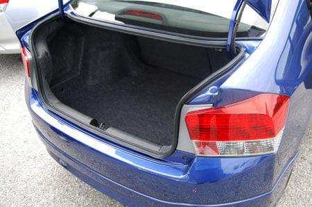 Honda City Trunk