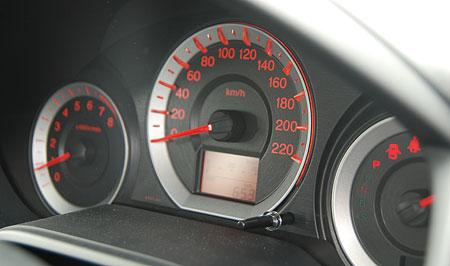 Honda City Meter Panel