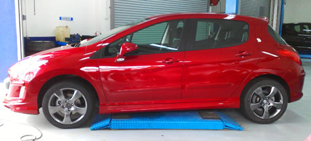 Peugeot 308 NZLine