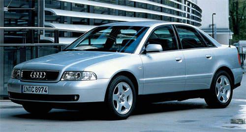 Audi A T - Audi car 1996