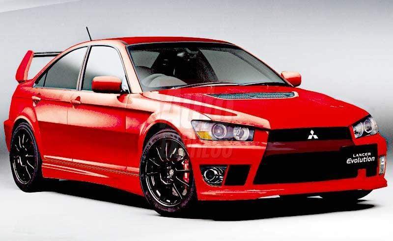 Mitsubishi Lancer Evolution X Concept