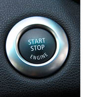 BMW 130i Engine Start Button