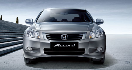 8th Generation 2008 Honda Accord launched