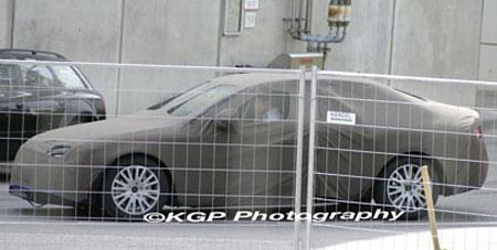 2009 Audi A4 Spyshot