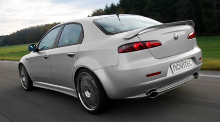 alfa romeo 159 tuned by novitec. Black Bedroom Furniture Sets. Home Design Ideas