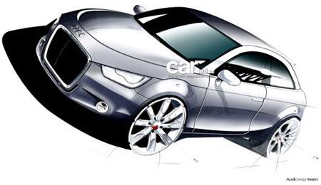 Audi A1 Sketch