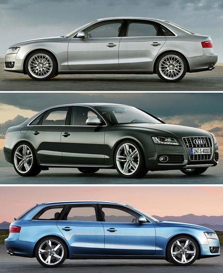 2009 Audi A4 (B8) Artist's Rendering