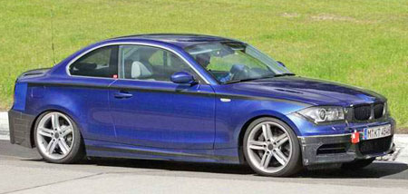 BMW 1 Coupe Spyshot