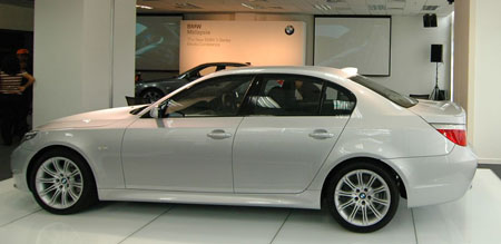 Facelifted BMW 5Series in Malaysia