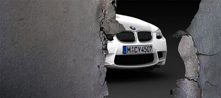 BMW M3 Peekaboo