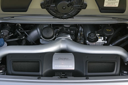 Porsche 3.6 litre twin turbo boxer