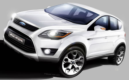 ford kuga crossover to debut at frankfurt 2007. Black Bedroom Furniture Sets. Home Design Ideas