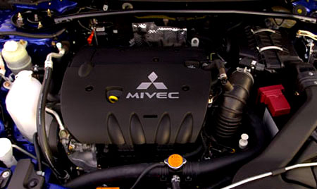 2007 Mitsubishi Lancer: The New 4B11 Engine