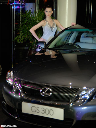 Lexus GS300 Facelift in Malaysia