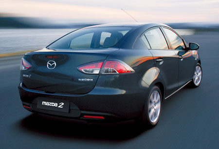 Mazda Sedan Unveiled For The Chinese Market