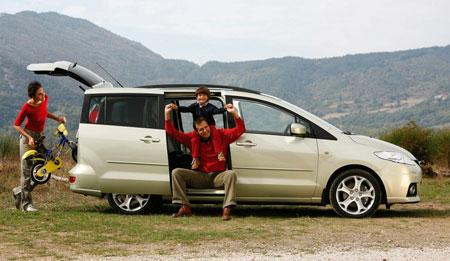 Mazda 5 Facelift