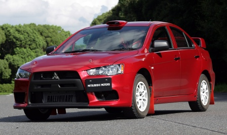 Evo X Course Car