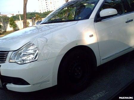Nissan Bluebird Sylphy Spyshot 3