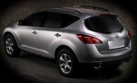 Nissan Murano Spyshot