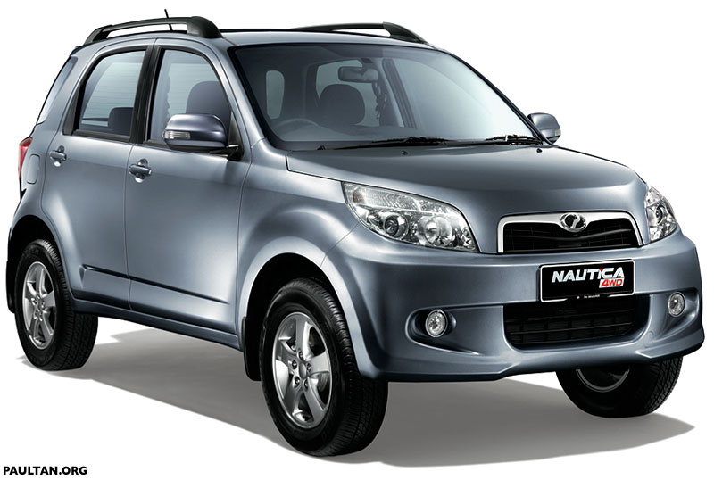 Perodua Nautica 4WD Specifications And Photos