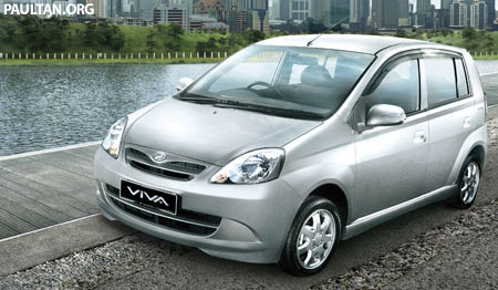 Perodua Viva HDR Narrower