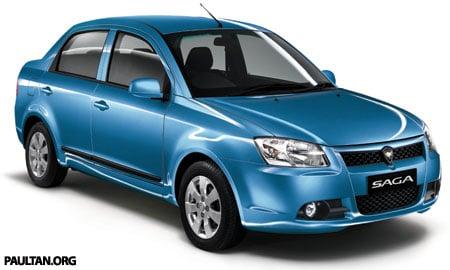 New Proton Saga - Front 3/4
