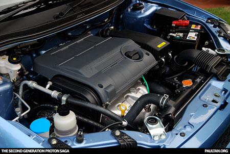 New Proton Saga - Engine Bay