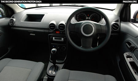 New Proton Saga - Dashboard
